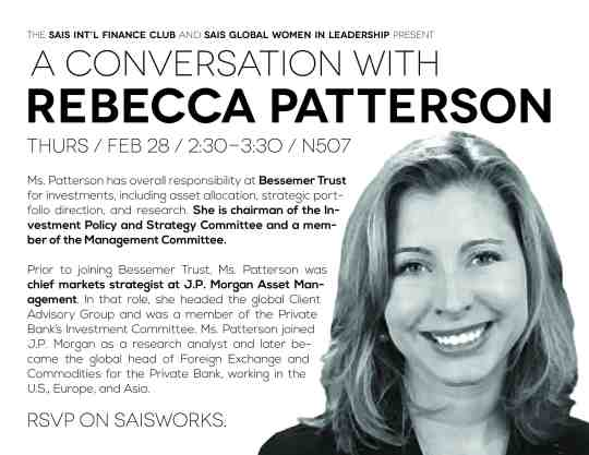 A Conversation with Rebecca Patterson
